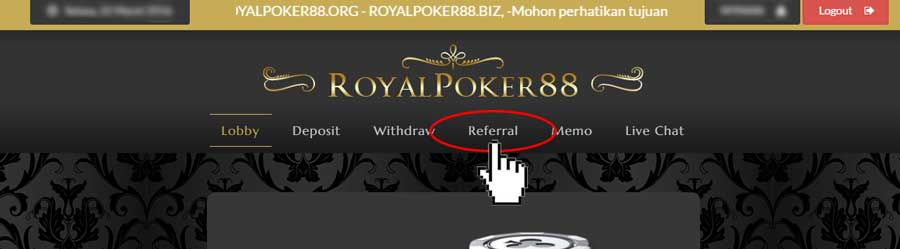 Lupa id poker88